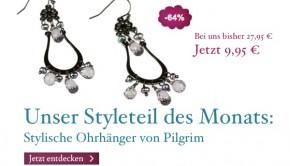 Ohrhänger von Pilgrim Styleteil des Monats